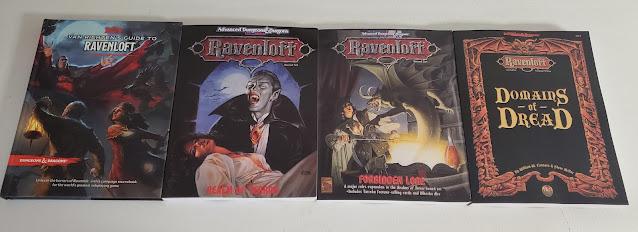 Ravenloft books
