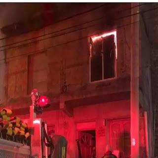 Incendio en una vivienda en Ushuaia