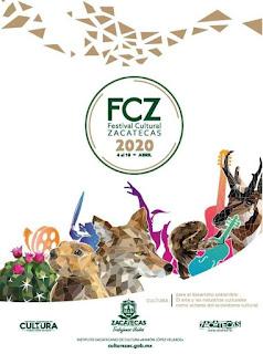 programa festival cultural zacatecas 2020