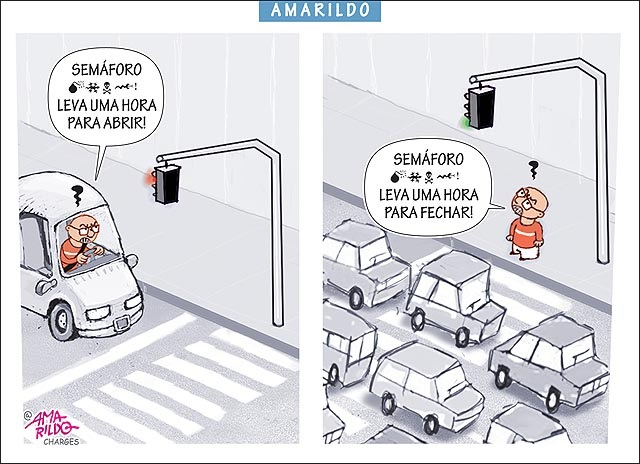 SEMÁFORO DEMORADO