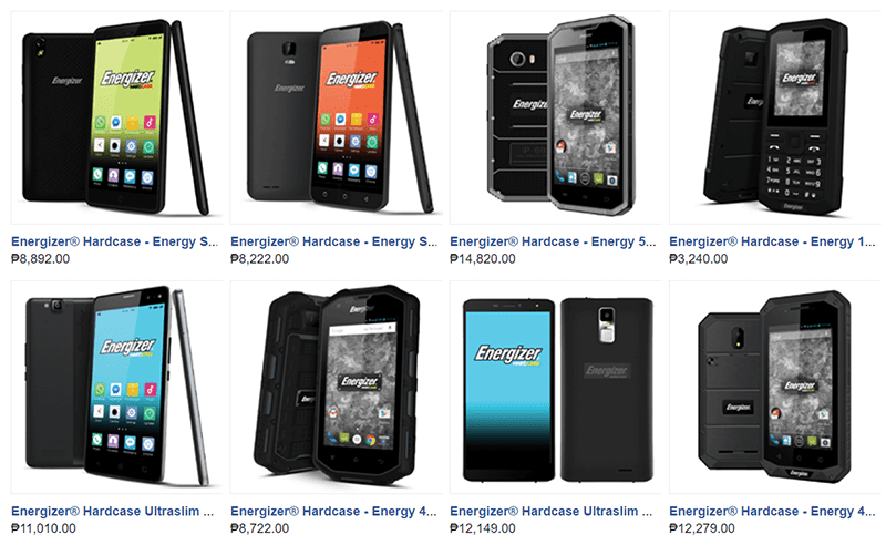 Energizer Hardcase And Slim Smartphones To Launch In PH!