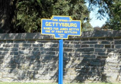 Gettysburg - Town Historical Marker in Pennsylvania