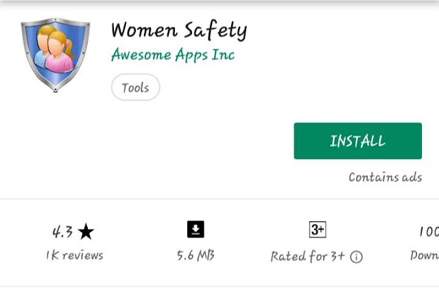 Women safety app