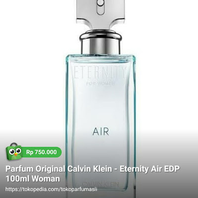 calvin klein eternity air edp 100ml woman