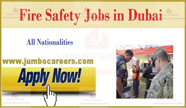 Latest Fire and Safety Jobs in Dubai