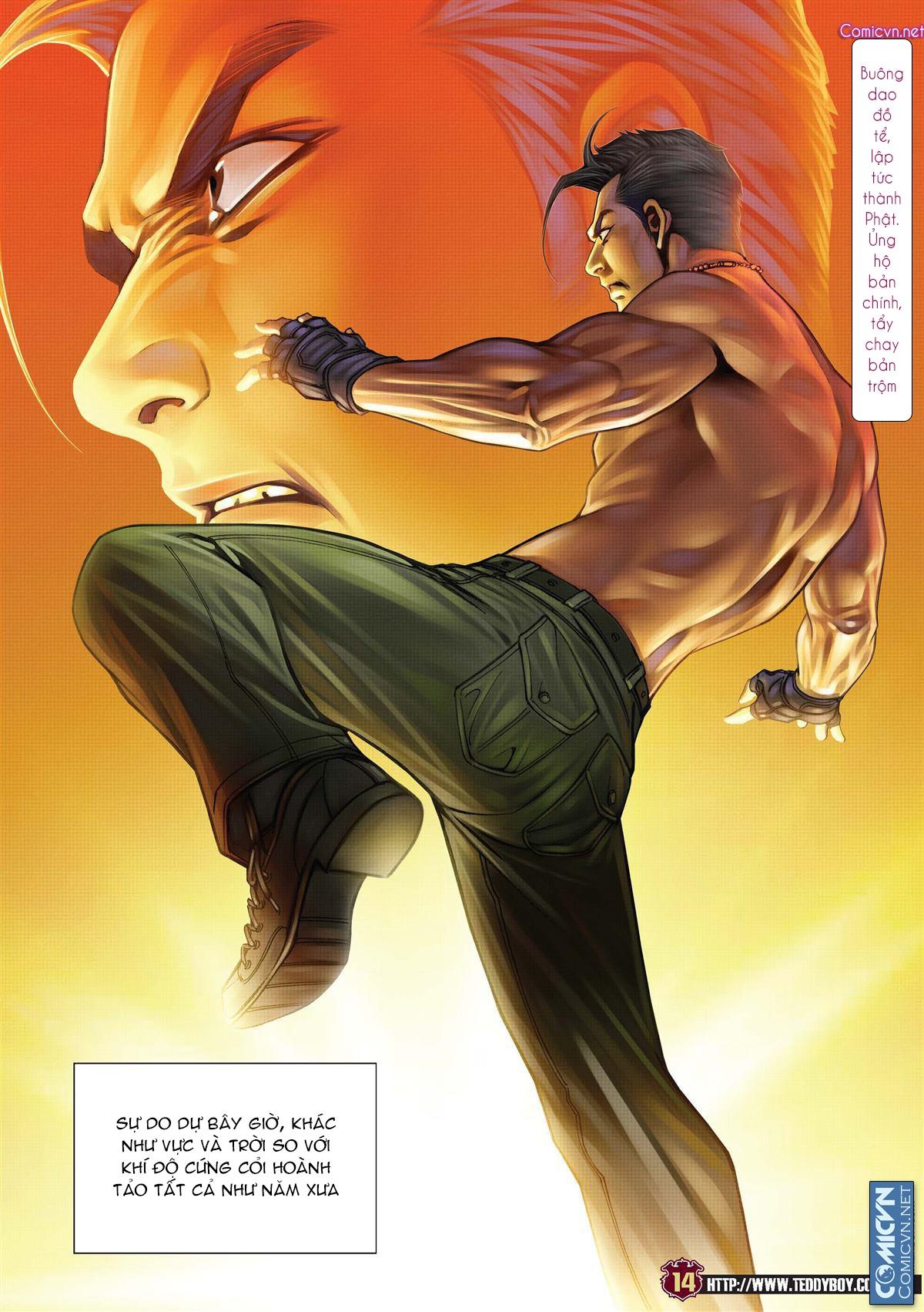 Người Trong Giang Hồ chapter 2137: tiền lộ nan hành trang 13