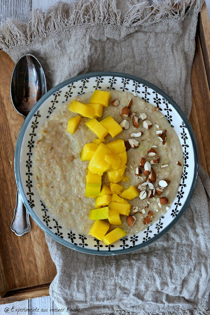Cappuccino-Zoats | Rezept | Essen | Frühstück | Porridge | Weight Watchers