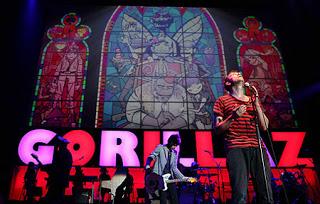 Live Bootlegs: Gorillaz - Live @ Glastonbury Festival, England, 25
