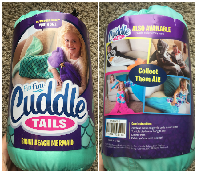 Fin Fun Cuddle Tail Review