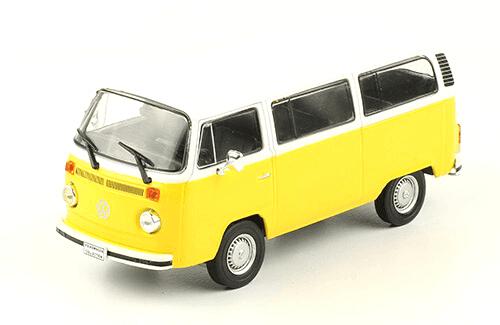 volkswagen T2 1973 1:43, volkswagen collection, colección volkswagen méxico