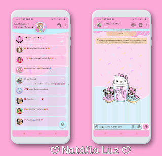 Hello ShakeTheme For YOWhatsApp & Aero WhatsApp By Natalia Luz