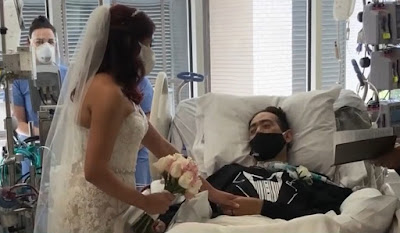 Nurses Organises Marriage of  San Antio COVID 19 Patient to Bring him Life Back