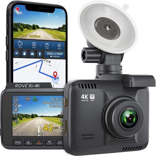 Review Rove R2-4K UHD Dash Cam Car Camera