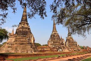 Il tempio Wat Phra Si Sanphet ad Ayutthaya