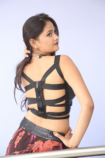 Shriya Vyas in a Tight Backless Sleeveless Crop top and Skirt 97.JPG