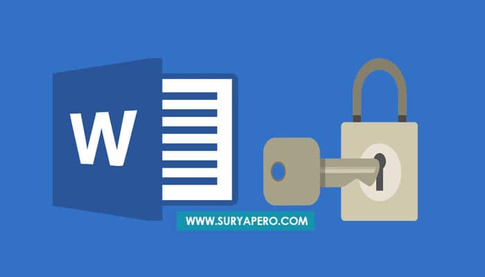 membuka protect document word