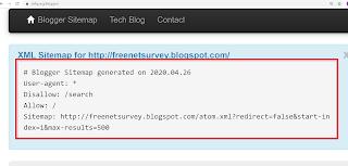 sitemap generator code