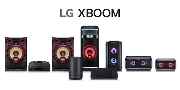 LG XBOOM speaker lineup announced