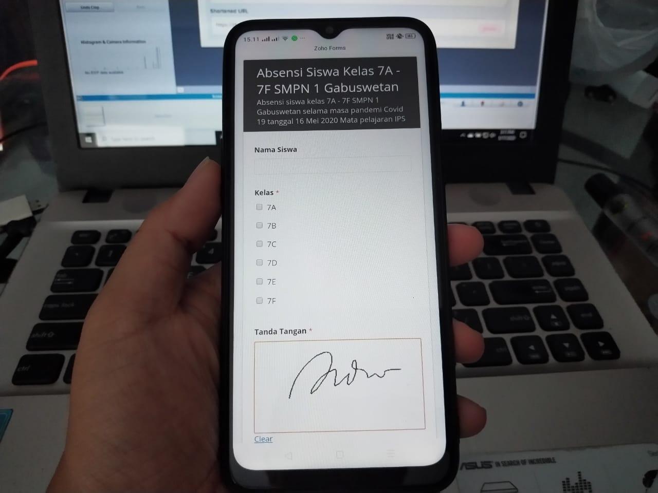 Cara Membuat Absensi Online Dengan Tanda Tangan Menggunakan Zoho Didno76 Com