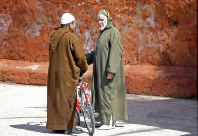 Djellaba, Marrocos