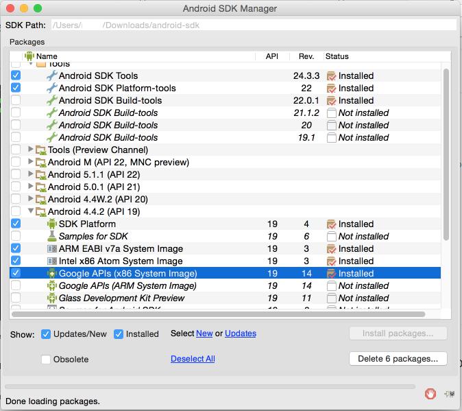 Install & Setup Android SDK and ADB on Mac OSX