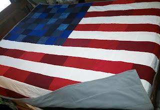 ProsperityStuff American Flag Quilt