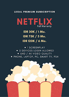 Daftar Harga Netflix Murah