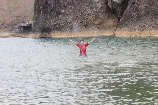 Serunya Bermain Air di Kali Oyo Imogiri