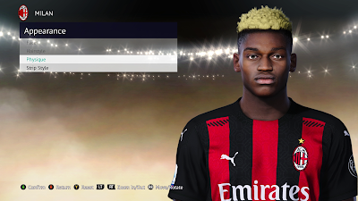PES 2021 Faces Rafael Leão by Abdulaziz