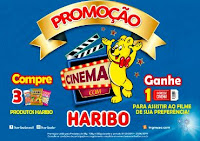 Promoção Cinema com Haribo cinemacomharibo.com.br