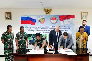 Kontrak Pengadaan Kendaraan Tempur dan Tank Angkut Personel