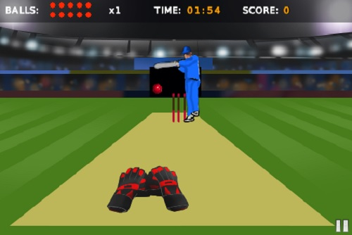 Play Tap Catch Cricket Game