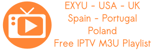 Lista IPTV M3U Spain PT EX-YU USA Poland UK