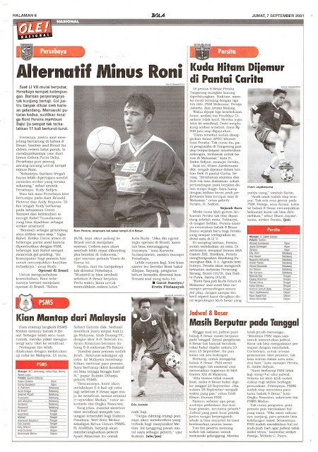 PERSEBAYA ALTERNATIF MINUS RONI