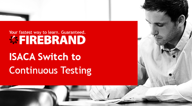 ISACA Switch to Continuous Testing - How to Schedule Your Exam