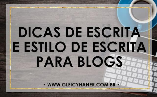 Dicas de escrita para blogs