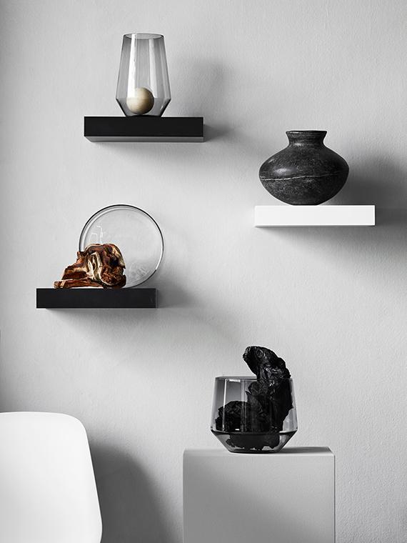 Art gallery with shelves. IKEA Livet Hemma