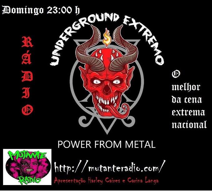 Underground Extremo no Mixcloud: Episódio 01