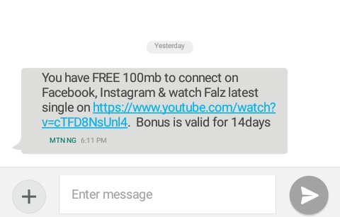 How To Free Facebook On Mtn MTN Zambia Enjoying free