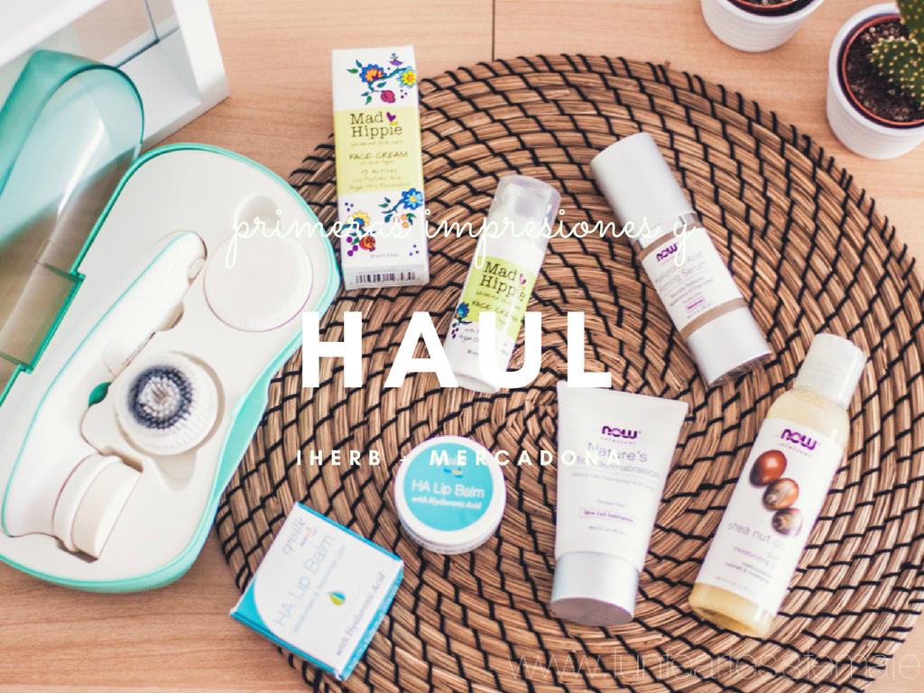 Haul + primeras impresiones: iHerb y Mercadona