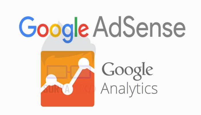 Menautkan akun AdSense dengan Analytics