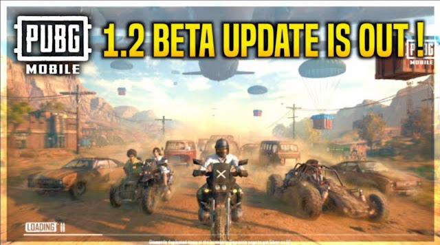 PUBG Mobile 1.2 Beta Update APK Download link