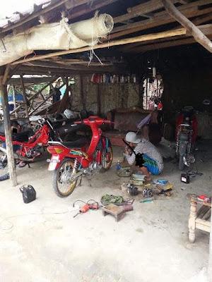 bengkel sepeda motor di Lampung