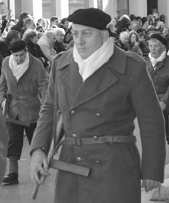 Défilé commémoratif à Oyonnax, soixante-dix ans après