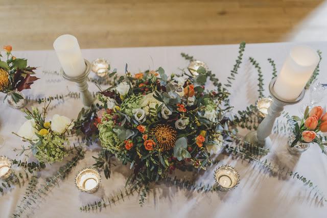 decoracion floral bodas de invierno