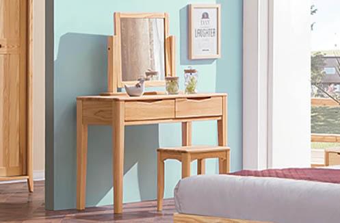 Điểm danh 4 ưu điểm của bàn trang điểm gỗ tự nhiên