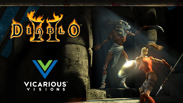 diablo 2 resurrected remake action role-playing hack-and-slash game vicarious visions activision blizzard entertainment