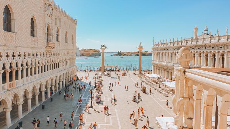 St Mark's Square Venice 2020 Covid Travel