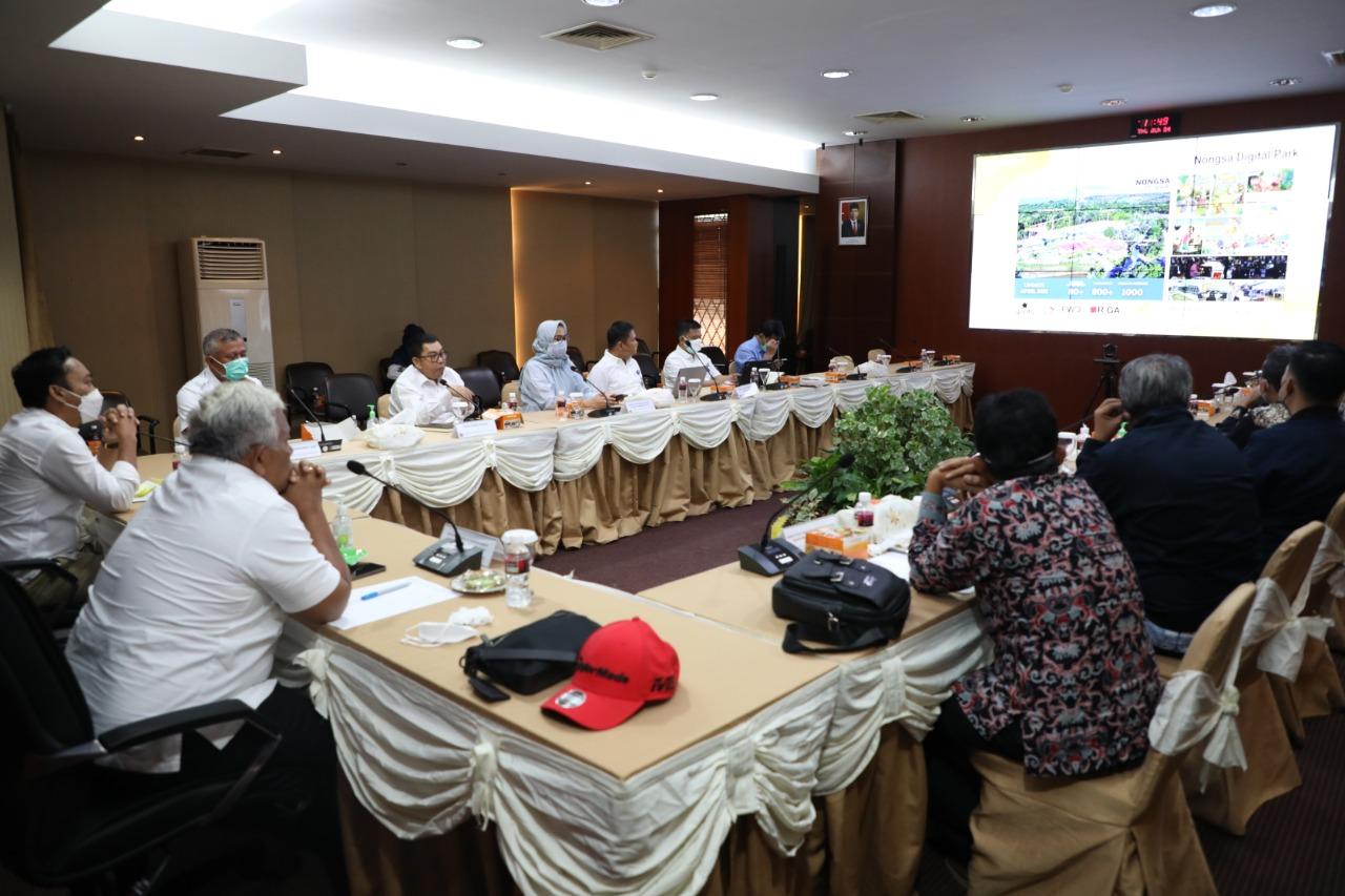 Pansus KBN DPRD Provinsi DKI Jakarta Kunker ke BP Batam Untuk Mempelajari Pengelolaan KPBPB Batam