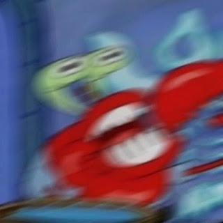 Polosan meme tuan krab 29 - aaahhh teriakan amarah tuan krab